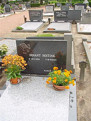 Grave of Dinant Hoitink in Winterswijk.