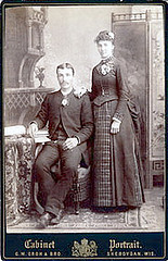 Hendrik Jan Huinink and his wife.