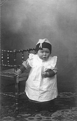 Henk Hoitink as a baby.