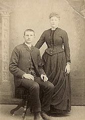 Gerrit Jan Wieberdink and his wife Hendrika Winkelhorst