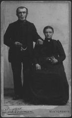 Gerrit Jan van Nijkerken and Willemina Berendina Kastein.